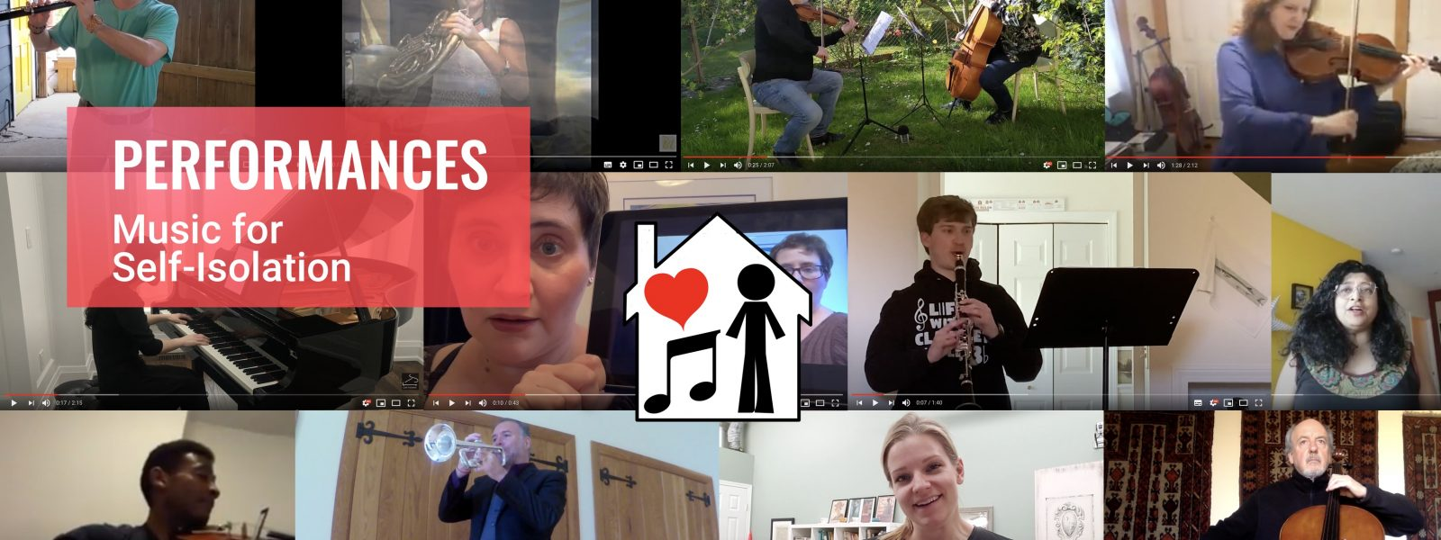Music for Self-Isolation: Performances